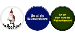 Weihnachtsbuttons 38mm